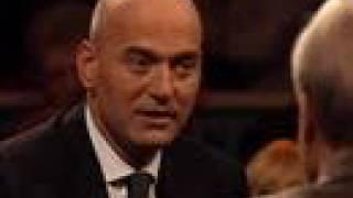Pim Fortuyn in debat met Marcel van Dam (PvdA) - 1997