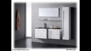Closets Doors & Beyond - Bathroom Cabinets And Vanities