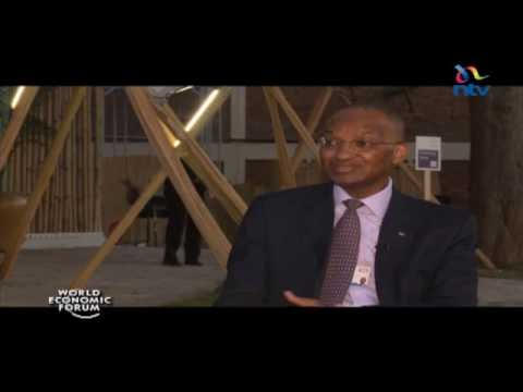 WEF interview with Dr. Patrick Njoroge, governor - Central Bank of Kenya