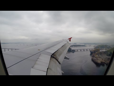 TAM Airbus A319 Brasília - Santos Dumont [Voo Completo]