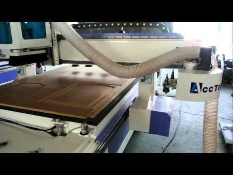 Jinan AccTek Machinery auto feeding woodworking cnc router