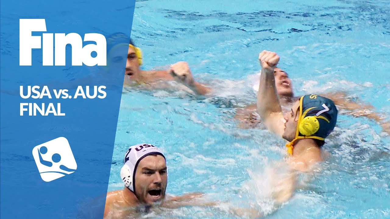 USA vs AUS - Highlights - Final - 2016 FINA Men's Water Polo World League