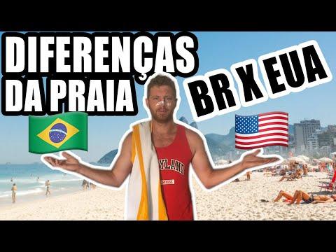 10 COISAS que só EXISTEM nas PRAIAS do BRASIL EUA X BR