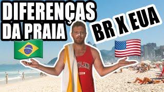 Baixar 10 COISAS que só EXISTEM nas PRAIAS do BRASIL (EUA X BR)
