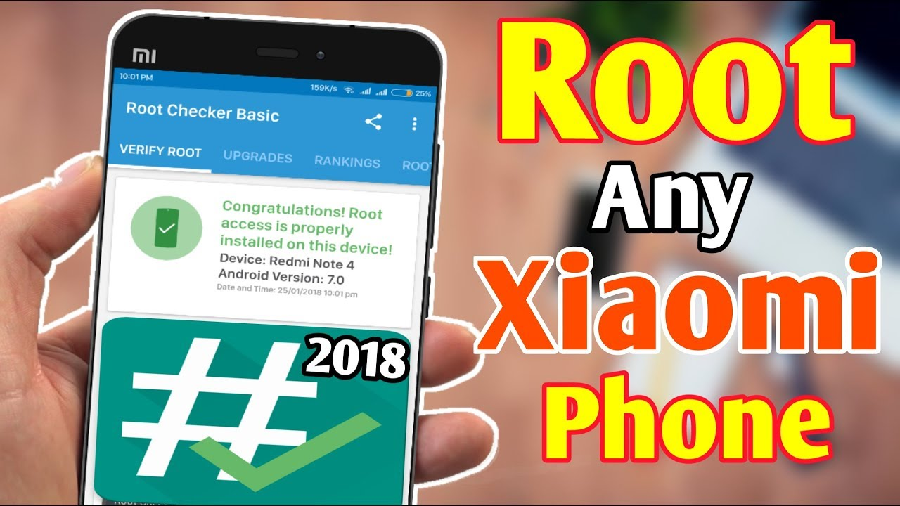 How To Root Any Xiaomi Phone Easily Without Pc 2018 | Bangla-বাংলা