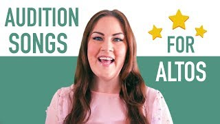 Download lagu 15 Good Audition Songs for Altos   Musical Theatre