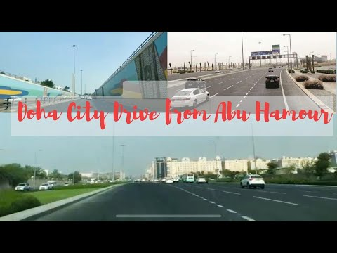 DOHA CITY DRIVE || DRIVING IN QATAR || FROM ABU HAMOUR