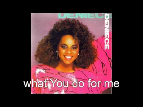 deniece williams + so glad i know