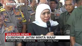 Mewakili Warga Jatim, Gubernur Khofifah Minta Maaf ke Masyarakat Papua