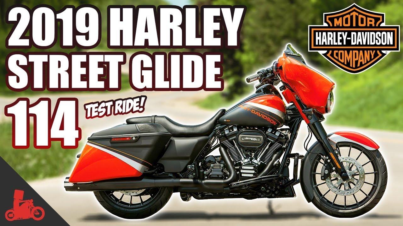 2019 Harley Davidson Street Glide 114 Test Ride New Infotainment