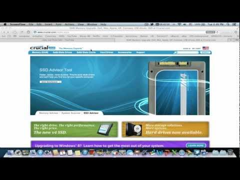 How to Update Crucial Solid State Drives on Mac - YouTube