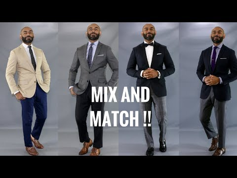 How To Mix And Match Men's Suits/Mix And Match Suits