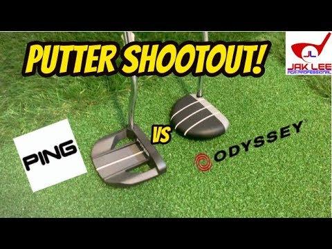 ODYSSEY STROKE LAB TUTTLE VS PING SIGMA 2 VALOR - PUTTER SHOOTOUT!