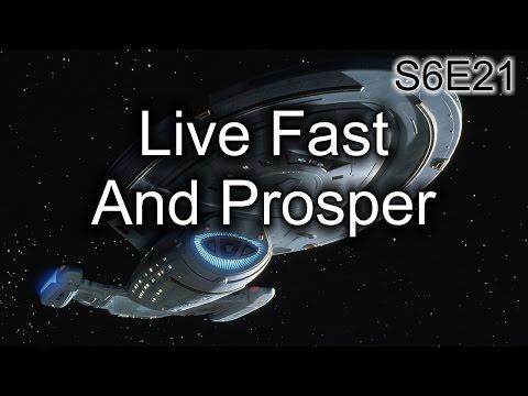 Star Trek Voyager Ruminations: S6E21 Live Fast And Prosper