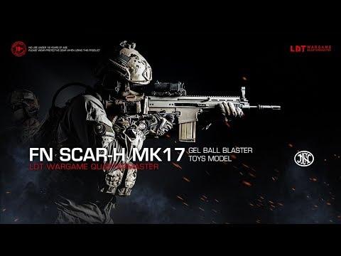 News informants - LDT SCAR-H MK17 Water Ball Gun Gel Ball Blaster Will Coming Soon