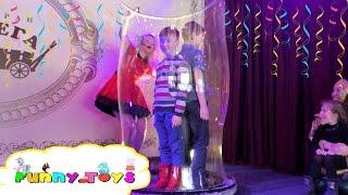 VLOG show for kids. Детский праздник. Bubble Show. Шоу мыльные пузыри