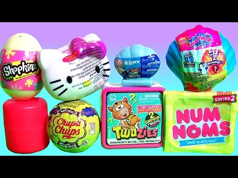 Toys Surprise Twozies Baby Pets Num Noms 2 Hello Kitty