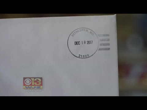 Bethlehem, Maryland Post Office Gets Busy During Christmas Season