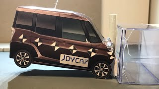 Joycap - Nissan DAYZ ROOX imitate Crash test