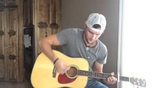 Broken Windshield View-Chris Lane (Acoustic Cover)