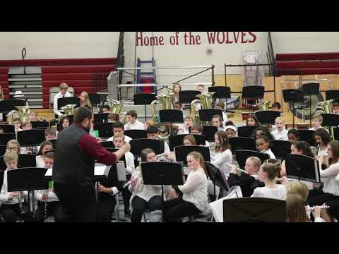 West Valley Middle School Band Concert Fall 2015