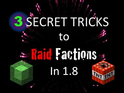 3 Tricks To Break into Faction Bases, and build on ENEMY CLAIMED LAND!