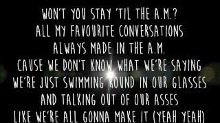 one direction am lyrics