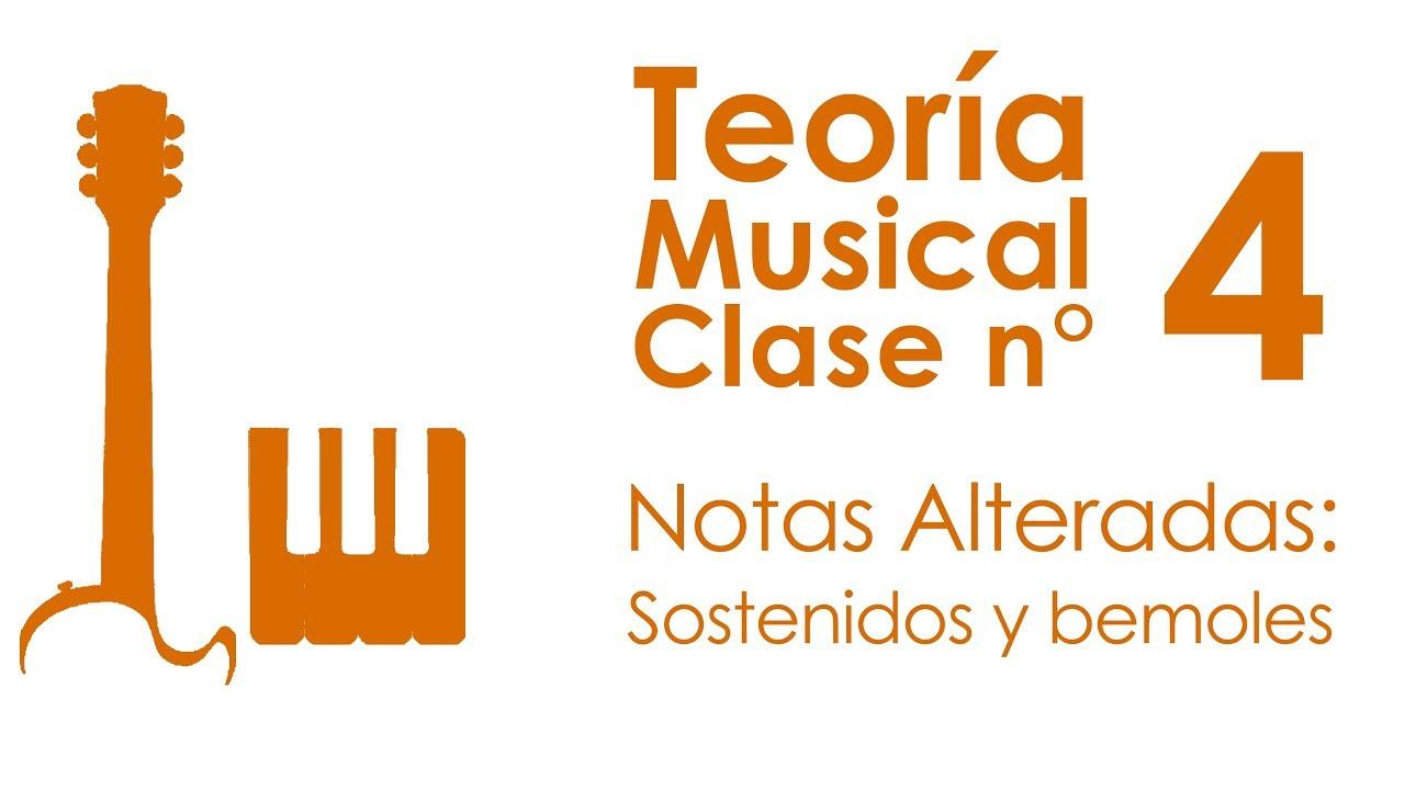 Notas Alteradas: Sostenidos y Bemoles | Teoría Musical, Clase 4