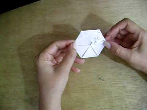 origami hexagono