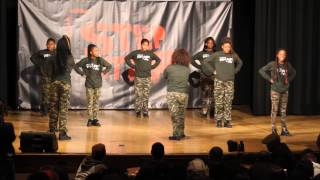 SEBNC CLOVERS PERFORMS AT STEP IT UP SEMI FINALS IN NYC.