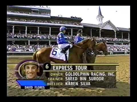 2001 Kentucky Derby - Monarchos: Full Broadcast
