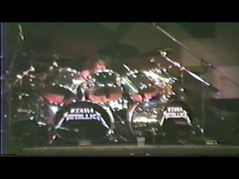 Metallica Damage Inc Live in 1986 at Quebec City Canada