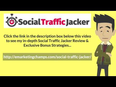 [Social Traffic Jacker Review] Honest Review & Bonus Strategies: (SocialTrafficJacker Review) See honest review of Social Traffic Jacker, learn how it works & discover unique Social Traffic Jacker BONUS strategies: http://emarketingchamps.com/social-traffic-jacker/  ----  Outsourcing e-book writing is among the simplest things to do on your Social Traffic Jacker review site. Work for hire or freelance sites let you post a job and have it finished safely utilizing an escrow service.  You'll likewise be able to