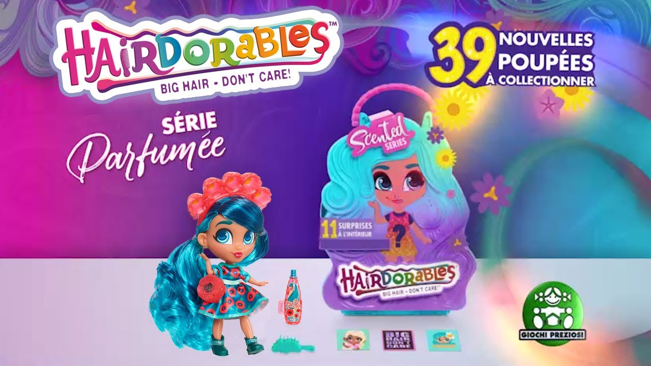 Hairdorables / Poupée Surprise Série 4 / Pub TV / Giochi France