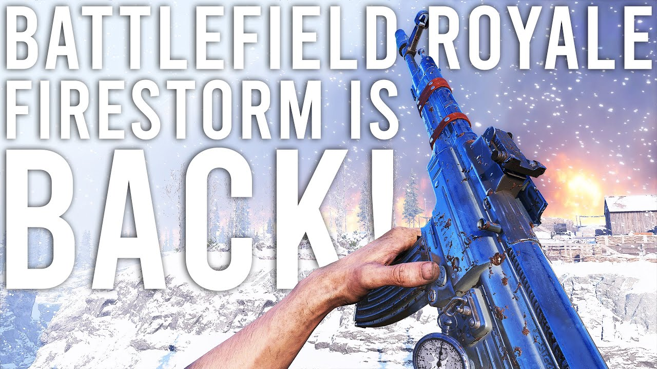 Battlefield Firestorm is back...