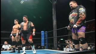 NJPW GREATEST MOMENTS NAKANISHI&NAGATA&NISHIMURAvsNORTON&STEINER&DEVINE