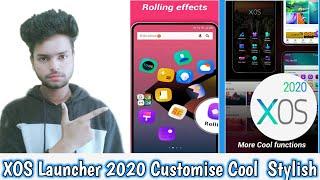 How to use XOS Launcher | XOS Launcher 2020 Customise, cool, stylish, screenshot 1