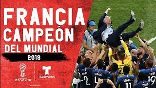 Francia Campeón Del Mundial | Copa Mundial FIFA Rusia 2018 | Telemundo