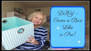 DIY - Fabric Covered Box