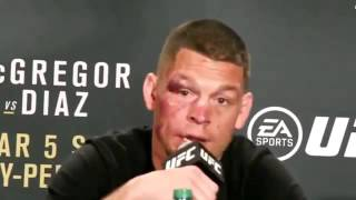Nate Diaz Explains why he said ''I'M NOT SURPRISED MOTHERFUCKERS''