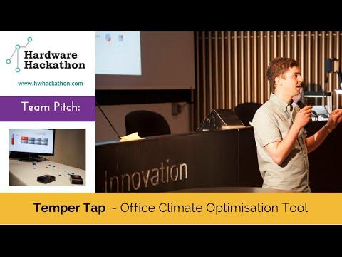 TemperTap Pitch (Dublin Hardware Hackathon 2014) #HackDublin