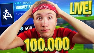 NIEUWE SKIN - EMOTE! #ROADTO100K - (Fortnite: Bataille Royale Nederlands Livestream)
