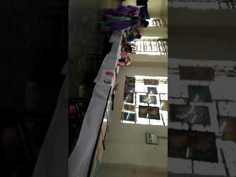 Samajik kawsal vikash Sansthan me students ki work exhibition