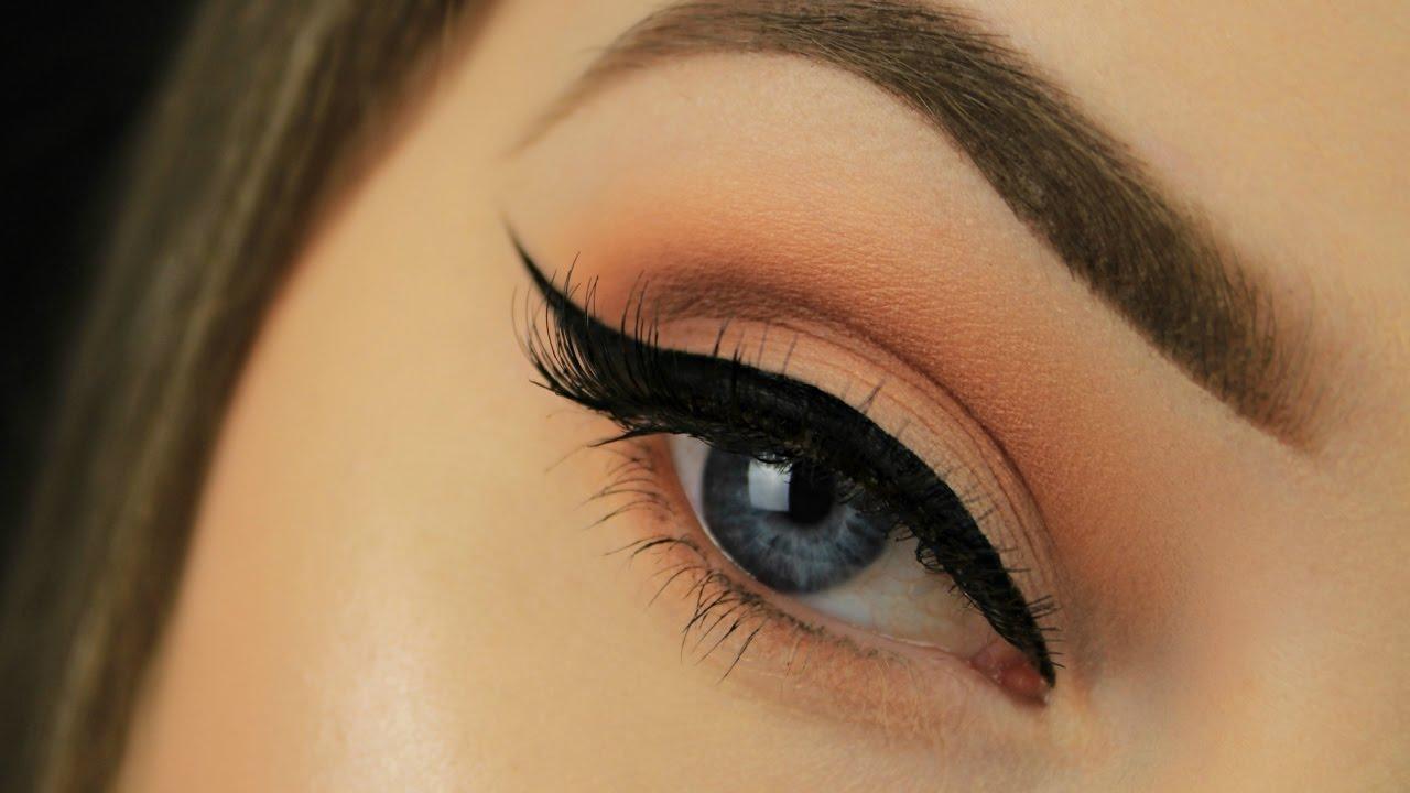 Neutral Makeup Look  Winged Eyeliner  Eimear McElheron