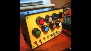 meeblip micro diy synth with korg emx1 sofa by earmonkey