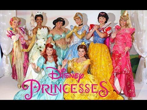Disneyland Park Fantasy Faire Royal Hall Princesses Meet-and-Greet 2018