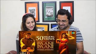 Pakistani Reacts to Badshah, Paani Paani   Jacqueline Fernandez   Aastha Gill   Official Music Video