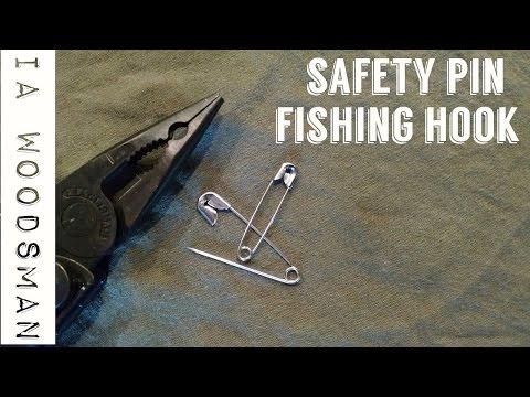 Safety Pin Fishing Hook