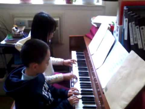 Piano Duet Can't Stop the Beat by David BlackwellFrom Elly's Studio