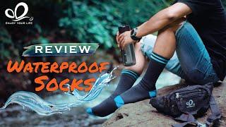 Kaos Kaki Anti Air | Waterproof Socks | Review